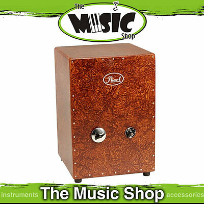 New Pearl Jingle Cajon Drum - Fibreglass Cajon Drum- PCJ-629