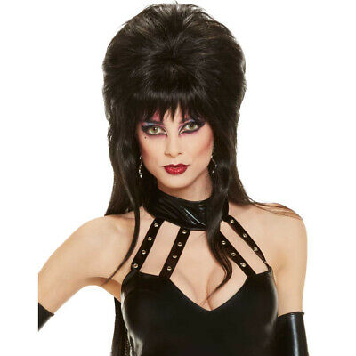 Elvira Wig Mistress Of The Dark Costume Womens Sexy Vampiress