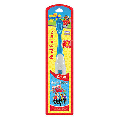 "The Wiggles singing toothbrush ""Hot Potato"" - Kids music toothbrushes"