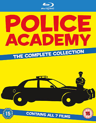 Police Academy 1-7 - The Complete Collection (Blu-ray) Steve Guttenberg
