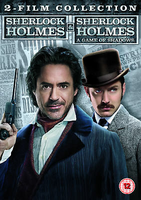 Sherlock Holmes and Sherlock Holmes: A Game of Shadows - 2 Film Collection (DVD)