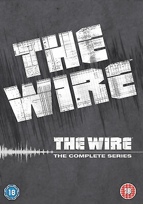The Wire: The Complete Seasons 1 - 5 Box Set (HBO) (24 Discs) (DVD) (C-18) &quot