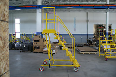 ND-70 Satety Rolling Ladder (OSHA Compliant)