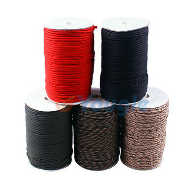 550 Paracord Parachute Cord Mil Spec Type III 7 Strand Core 100-320 feet Spool