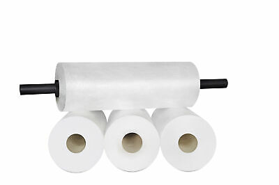 "(8 Rolls) Coreless Stretch Pallet Wrap Film 18"" 2000' + Plastic Dispenser"