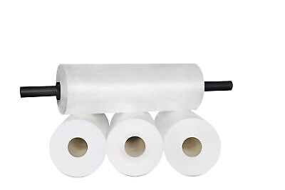 "(8 Rolls) Coreless Stretch Pallet Wrap Shrink Film 18"" 2000' + Plastic Dispenser"