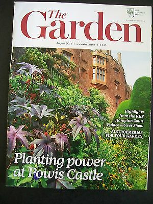 The Royal Horticultural Society. The Garden Magazine. August, 2014. VGC.