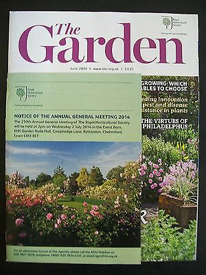 The Royal Horticultural Society. The Garden Magazine. June, 2014. VGC.