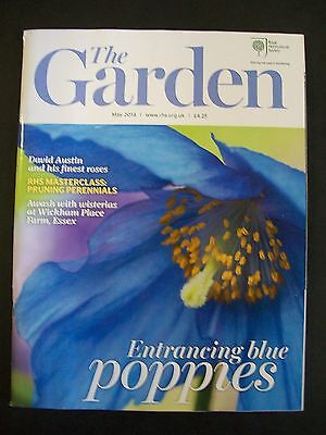 The Royal Horticultural Society. The Garden Magazine. May, 2014. VGC.