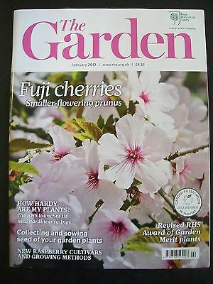 The Royal Horticultural Society. The Garden Magazine. February, 2013. VGC.