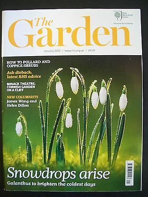 The Royal Horticultural Society. The Garden Magazine. January, 2013. VGC.