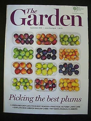 The Royal Horticultural Society. The Garden Magazine. September, 2013. VGC.