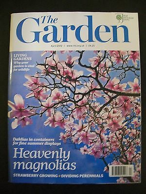 The Royal Horticultural Society. The Garden Magazine. April, 2012. VGC.
