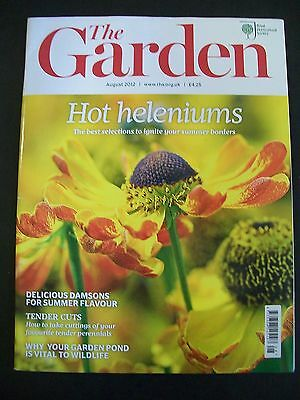 The Royal Horticultural Society. The Garden Magazine. August, 2012. VGC.