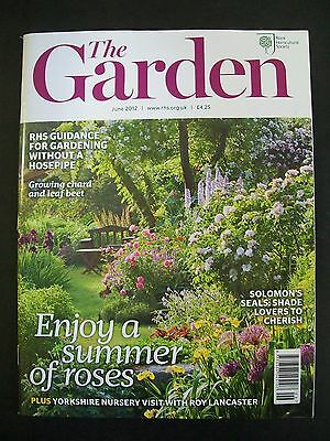 The Royal Horticultural Society. The Garden Magazine. June, 2012. VGC.