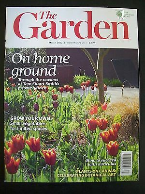 The Royal Horticultural Society. The Garden Magazine. March, 2012. VGC.