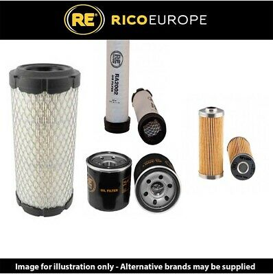 Filter Service Kit- Air- Oil- Fuel Filters Fits GATOR HPX 4X4