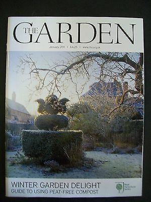 The Royal Horticultural Society. The Garden Magazine. January, 2011. VGC.