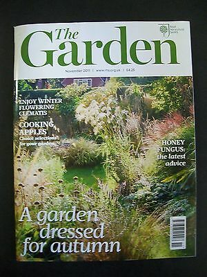 The Royal Horticultural Society. The Garden Magazine. November, 2011. VGC.