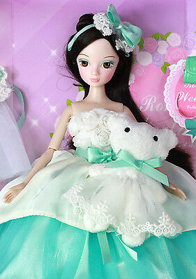 Glamorous Kurhn Doll With Bear Best Chinese Dolls Xmas Brithday Gift Idea 9078