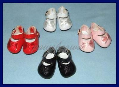 """SAVE 30% on 4 pair  of Patent Mary Jane SHOES fit 11"""" LISSY 12"""" Marley Wentworth"""