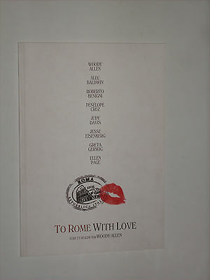TO ROME WITH LOVE - Woody Allen- Penelope Cruz
