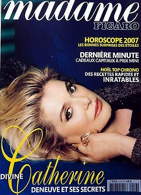 French magazine 2006: Actress CATHERINE DENEUVE_AUDREY HEPBURN_LUDIVINE SAGNIER