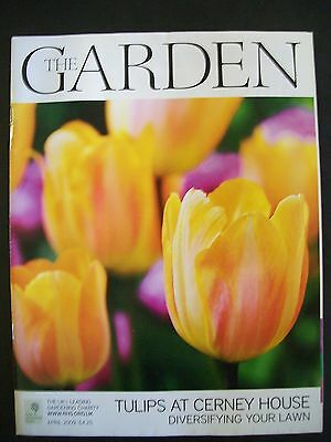 The Royal Horticultural Society. The Garden Magazine. April, 2009. VGC.