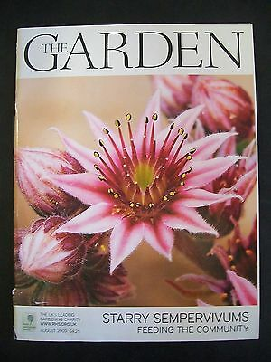 The Royal Horticultural Society. The Garden Magazine. August, 2009. VGC.