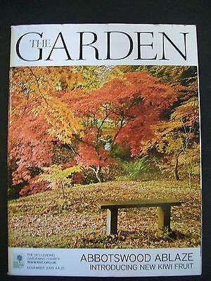 The Royal Horticultural Society. The Garden Magazine. November, 2009. VGC.