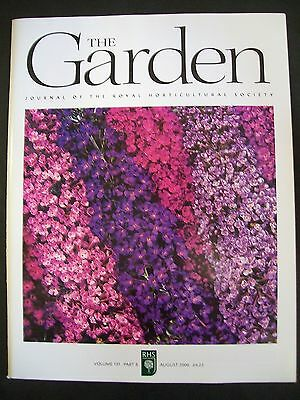 The Royal Horticultural Society. The Garden Magazine. August, 2006. VGC.