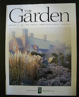 The Royal Horticultural Society. The Garden Magazine. February, 2006. VGC.