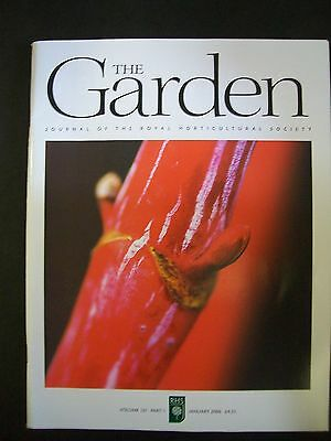 The Royal Horticultural Society. The Garden Magazine. January, 2006. VGC.
