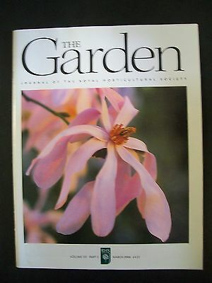 The Royal Horticultural Society. The Garden Magazine. March, 2006. VGC.