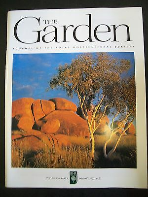 The Royal Horticultural Society. The Garden Magazine. January, 2005. VGC.