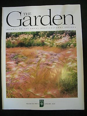 The Royal Horticultural Society. The Garden Magazine. June, 2005. VGC.