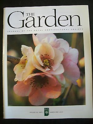 The Royal Horticultural Society. The Garden Magazine. March, 2005. VGC.