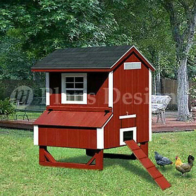 Diy Pallet Wood Chicken Poultry House Coop Pdf Plans