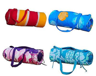 Beach Gear Combo Set Sunbath Mat + Neck Pillow Gift Ideals NEW Multi-Styles