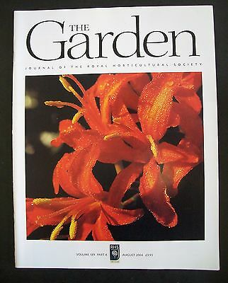 The Royal Horticultural Society. The Garden Magazine. August, 2004. VGC.