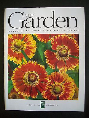 The Royal Horticultural Society. The Garden Magazine. August, 2002. VGC.