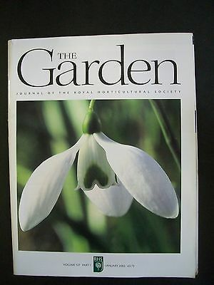 The Royal Horticultural Society. The Garden Magazine. January, 2002. VGC.