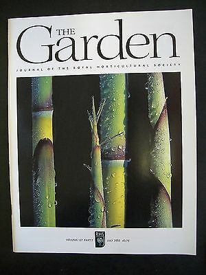 The Royal Horticultural Society. The Garden Magazine. July, 2002. VGC.