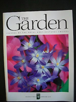 The Royal Horticultural Society. The Garden Magazine. March, 2002. VGC.