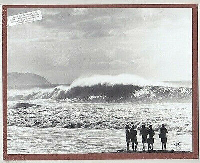 "Pipeline Beach (Ehukai) North Shore Original Photo Hand Printed On 8X10"" Matt"