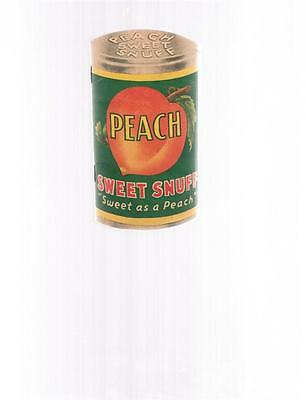 Vintage PEACH SWEET SNUFF small note booklet - 1950
