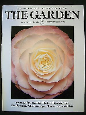 The Royal Horticultural Society. The Garden Magazine. February, 2000. VGC.