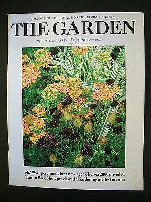 The Royal Horticultural Society. The Garden Magazine. June, 1999. VGC.