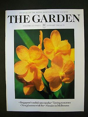 The Royal Horticultural Society. The Garden Magazine. January, 1998. VGC.