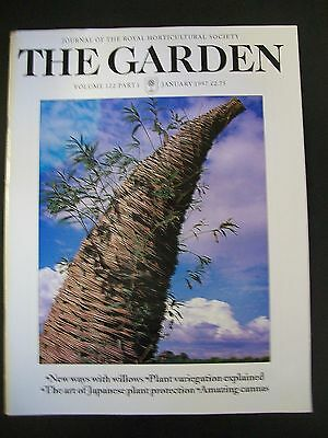 The Royal Horticultural Society. The Garden Magazine. January, 1997. VGC.